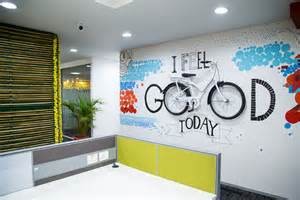 Plastic Wall Murals freshdesk chennai offices office snapshots