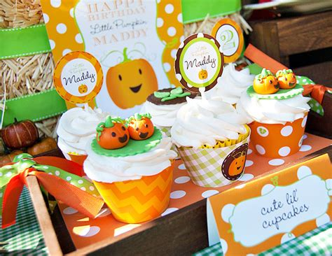 party themes in october little pumpkin fall harvest birthday party design dazzle