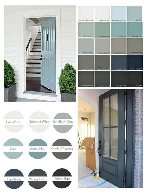 front door paint colours best 25 colored front doors ideas on front