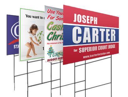 yard sign printing near me nyc cheap yard signs