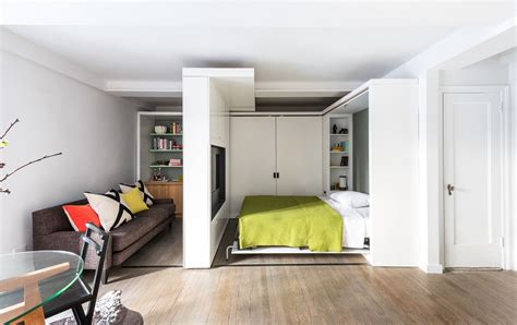 390 square feet 390 square foot micro apartment with multifunctional