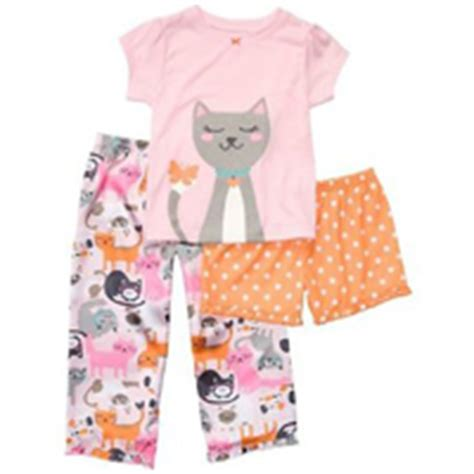 Set Cat Sleep baby pajamas for sleeping