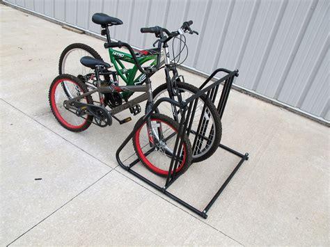 6 Bike Rack by Racks Bike Valet Bicycle Parking Stand
