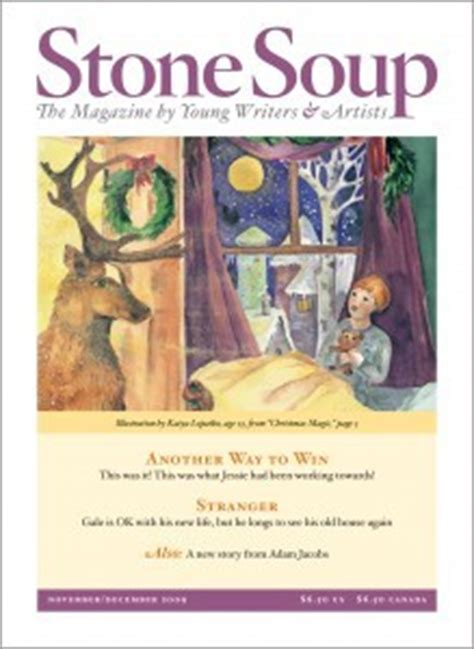 stone soup the magazine by young writers artists by children s art foundation