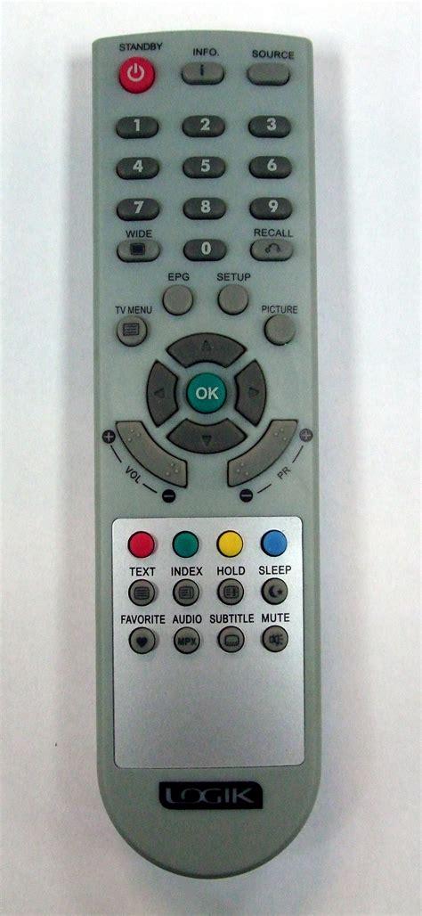 Remote Indovison Original 5 Genuine Original Logik 92 234 01050lt 19e2h Lcxw19d5 Tv
