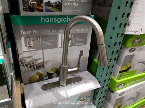 hansgrohe kitchen faucet costco hansgrohe cento pull kitchen faucet