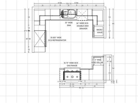 kitchen floor plans with dimensions kitchen cabinets designs by dimension kitchen designing