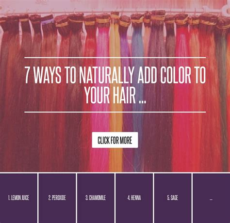 add cornstarch to hair color 7 ways to naturally add color to your hair hair