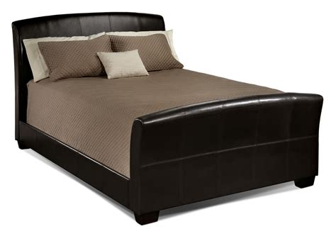 image of a bed new manhattan bed chocolate s