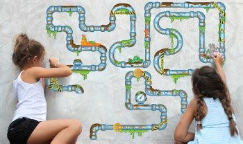 Plumber Number Number Plumber Wall Graphic Puzzle And He S All Boy