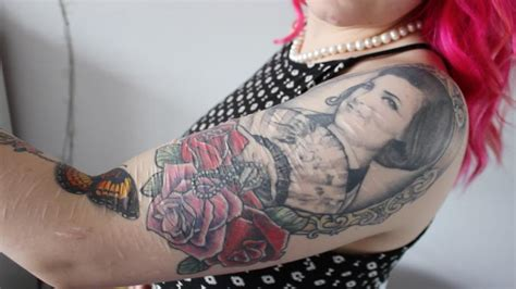 how tattoos can ease the emotional pain of self harm scars