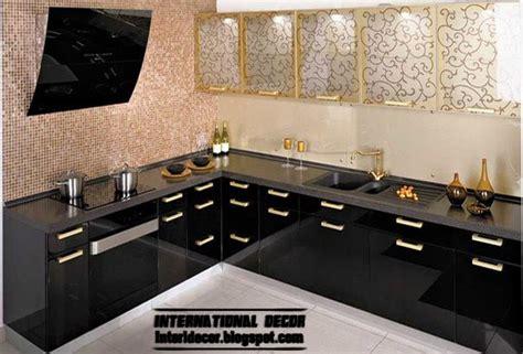 Contemporary Kitchen Ideas 2014 by Modern Black Kitchen Designs Ideas Furniture Cabinets