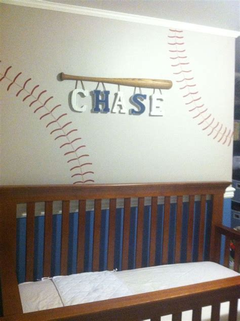 baby boy sports nursery ideas sports themed handpainted wall letters by