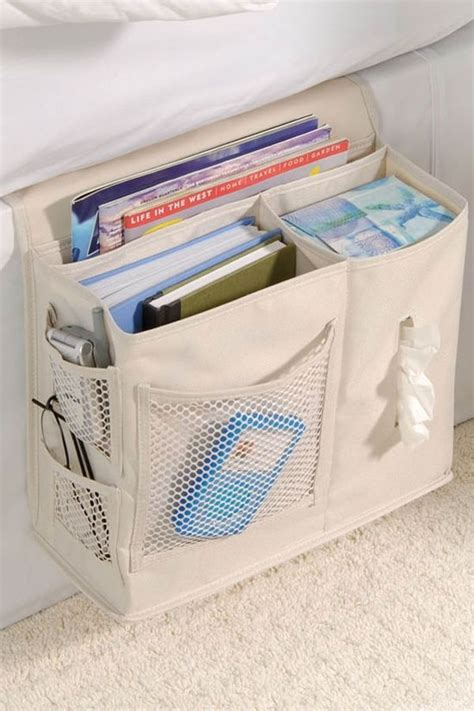 bed caddy bedside caddy better than a nightstand with pockets