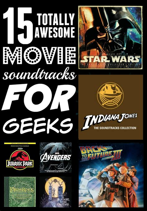 soundtracks best 15 of the best soundtracks for geeks
