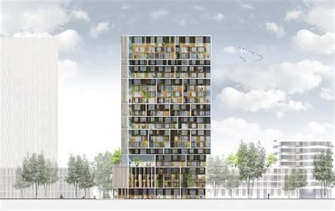 social structure: apartment tower fosters community