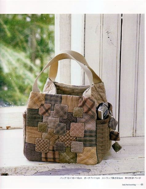 Japanese Patchwork Bags - japanese patchwork bag i the casual chic beautiful