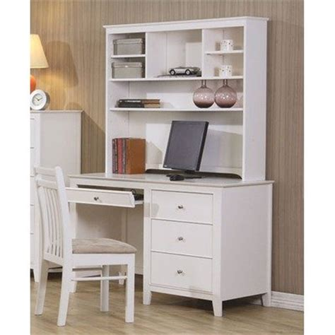 white computer desk with hutch white computer desk with hutch