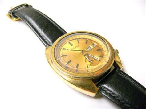 wrist seiko vintage chronograph automatic mens gold