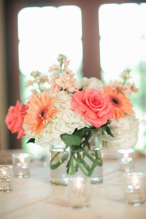 27 Stunning Spring Wedding Centerpieces Ideas Coral Coral Centerpiece Ideas