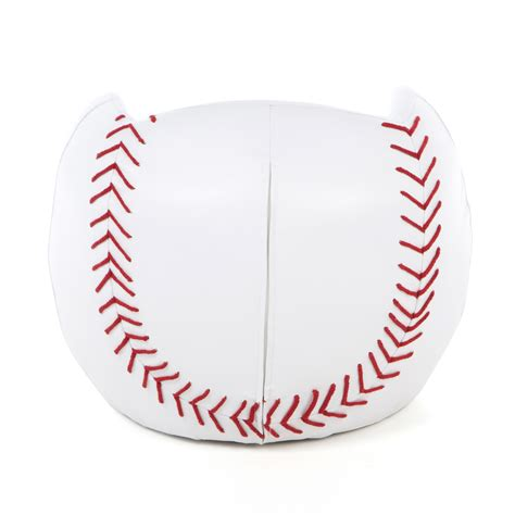 baseball chair and ottoman gift mark baseball kids novelty chair and ottoman