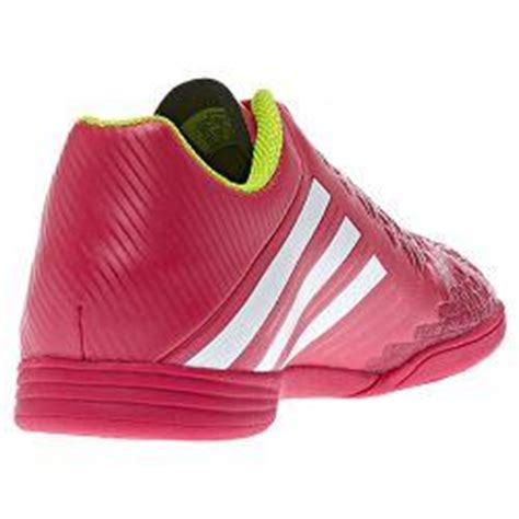 adidas predito lz in 2013 indoor soccer shoes pink white new youth ebay