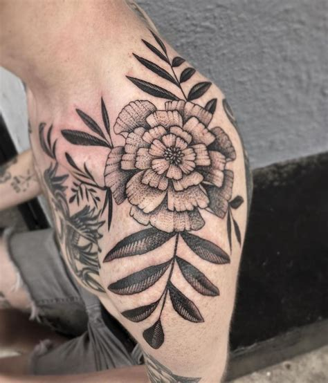 marigold tattoo 25 best ideas about marigold on birth