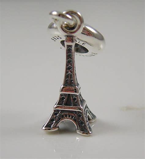 Pandora Eiffel Tower Charms P 561 authentic genuine pandora silver eiffel tower dangle charm 791082 ebay