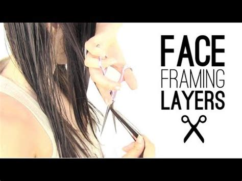 face framing hair cutting technique face framing layers how to youtube