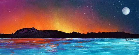spray painting edinburgh edinburgh sunset across the forth scotland an original