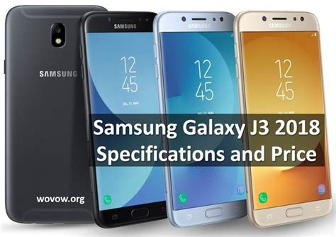 Samsung J3 Th 2018 samsung galaxy j3 2018 official specifications and price