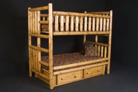 Pine Beds With Drawers by Pine Bunk Bed With Drawers