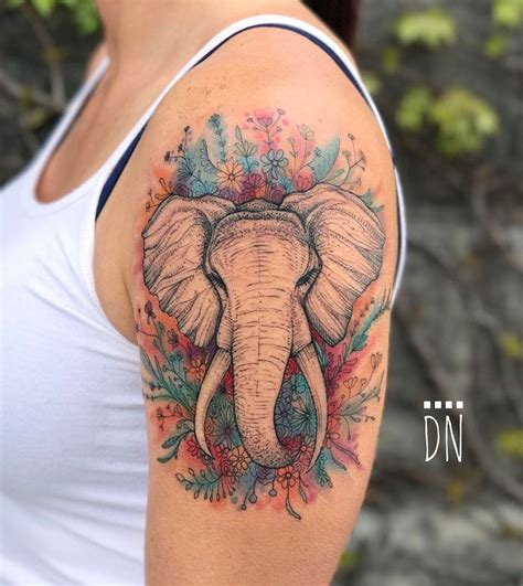 elephant tattoo under arm the 25 best animal tattoos ideas on pinterest