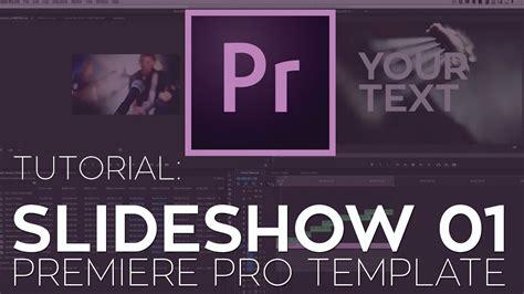 Rant Modern Slideshow 01 Premiere Pro Template Tutorial Youtube Cut Pro Photo Slideshow Template Free