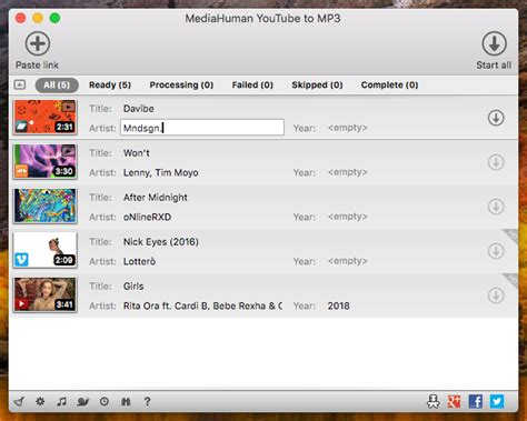 how to download mp3 from youtube using mac convertisseur youtube vers mp3 la meilleure fa 231 on de