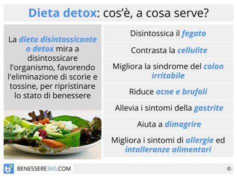 Dieta Detox Menu by Dieta Disintossicante Detox Dimagrante O Per Purificare