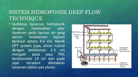 V Sock Untuk Sistem Hidroponik Dft teknologi hidroponik sawi menggunakan dft