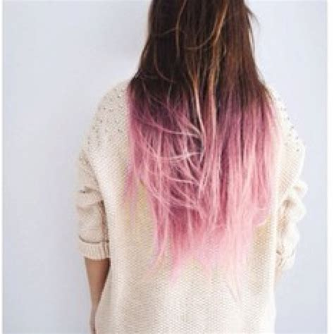 dip dye hairstyles brown and blonde pinterest discover and save creative ideas