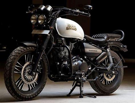 best royal enfield 500cc royal enfield thunderbird ivory black