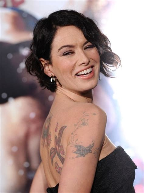lena headey tattoo more pics of lena headey bird 3 of 10 tattoos