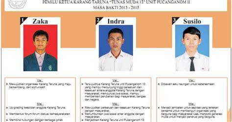 contoh kartu dan surat suara pemilu format corel cdr