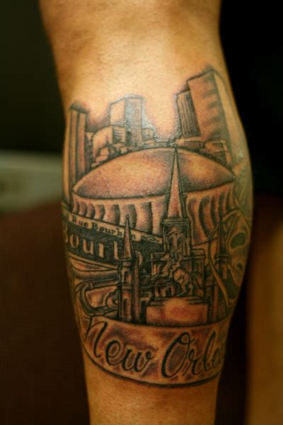 new orleans saints tattoos new orleans tattoos