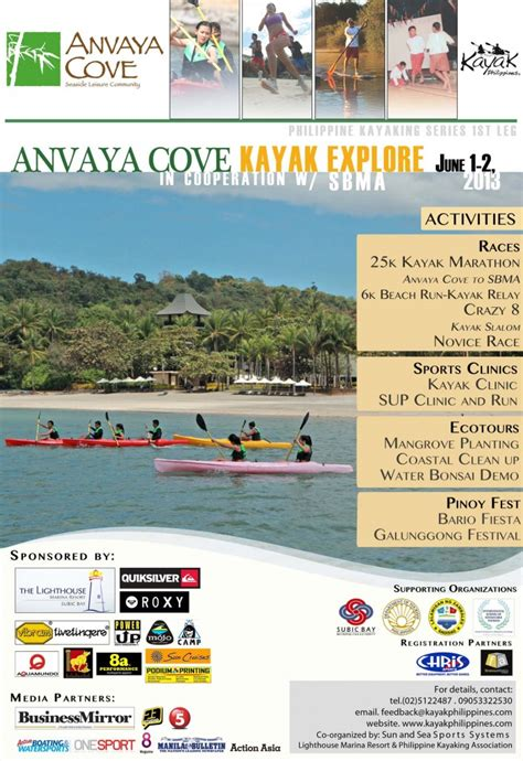 Anvaya Cove Room Rates 2014 by Philippine Kayaking Series 2013 Anvaya Cove Fitness