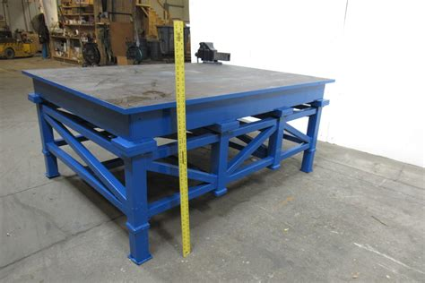 welding bench top very nice welding layout work table bench 78x60x34 034 1