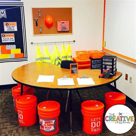 construction theme classroom decorations learning zone classroom reveal 2016 2017 construction