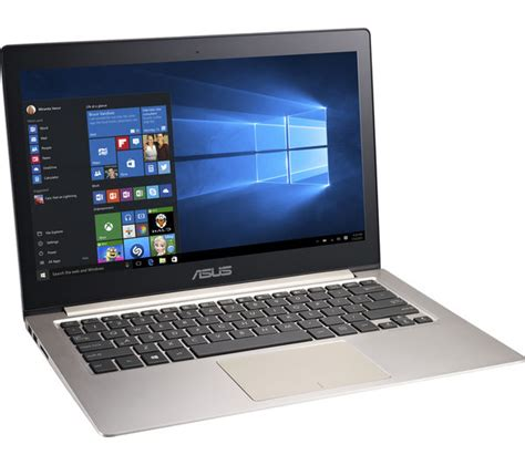 Asus Touchscreen Laptop Silver buy asus zenbook ux303 13 3 quot touchscreen laptop silver free delivery currys