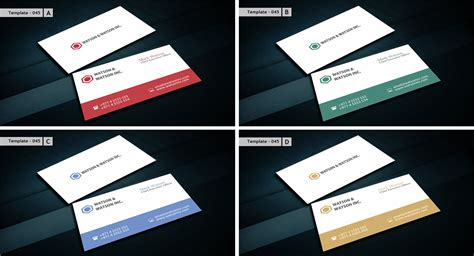 business card html template business card templates page 4