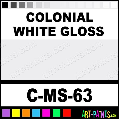 colonial white gloss moroccan sand ceramic paints c ms 63 colonial white gloss paint