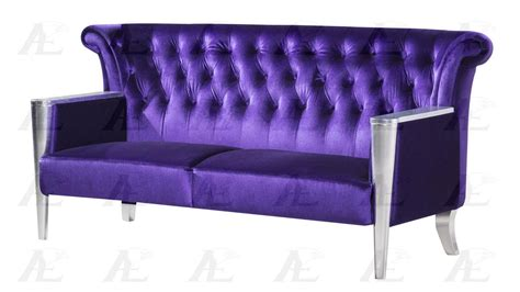 purple sofa and loveseat american eagle ae592 purple sofa loveseat and chair set