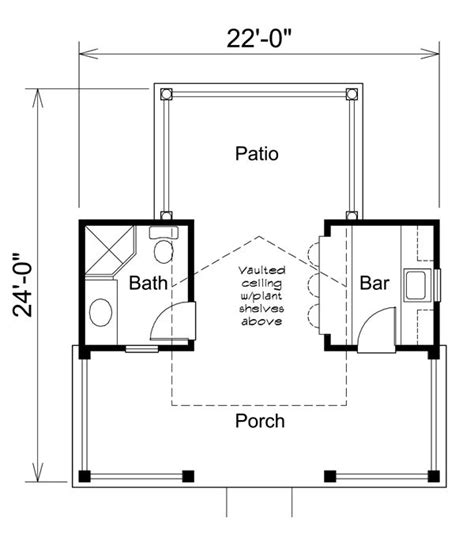 pool house floor plans with bathroom pool cabana my new house inspiration pinterest